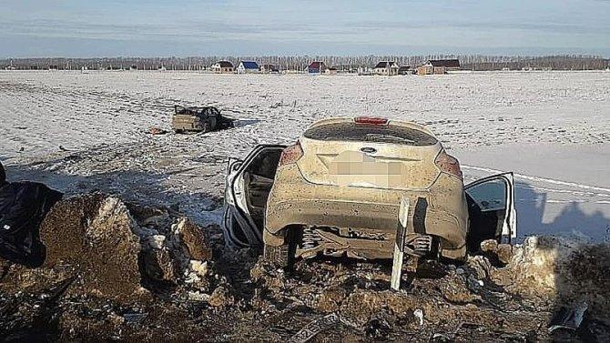 В ДТП в Башкирии погиб пассажир иномарки