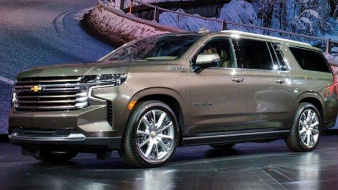 Представлены обновлённые Chevrolet Tahoe иChevrolet Suburban