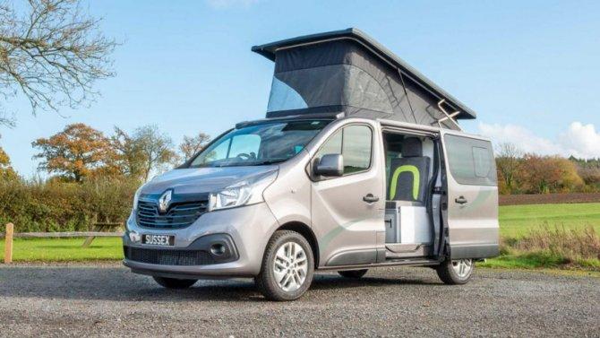 Renault Trafic стал кемпером