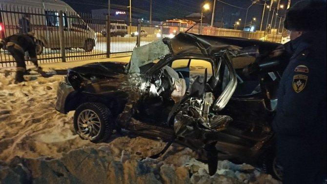 После ДТП с автобусом в Кургане водитель умер в больнице