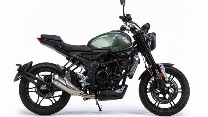 ВРоссии начались продажи премиальных китайских мотоциклов