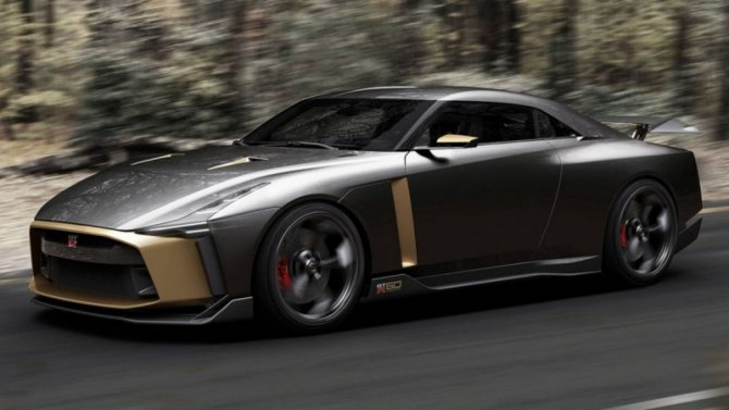Спорткар Nissan GT-R получил юбилейное исполнение