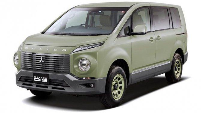 Что Mitsubishi покажет вТокио?
