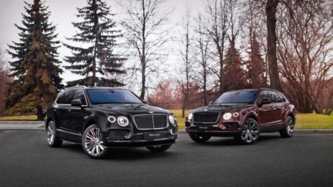 ВРоссию прибыли новые версии Bentley Bentayga