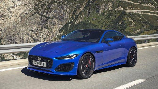 ВРоссии начались продажи нового Jaguar F-Type