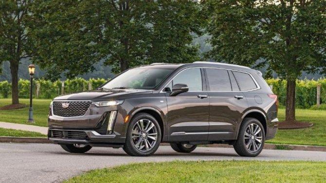 Вмарте вРоссию приедет новый Cadillac XT6