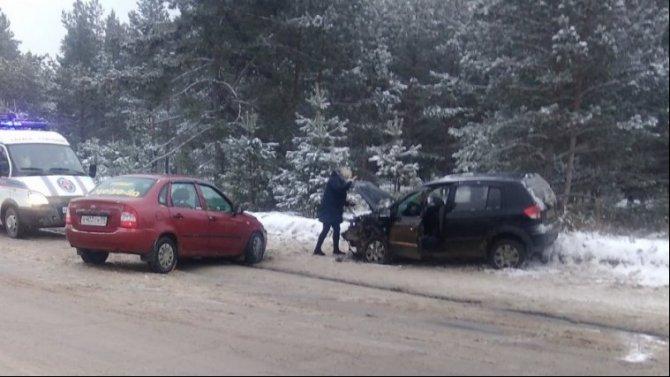 Трое взрослых и ребенок пострадали в ДТП в Перми