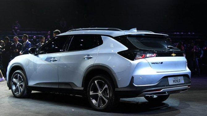 ВКитае начались продажи электрокроссовера Chevrolet