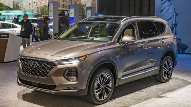 Новый Hyundai Santa Feстанет мощнее