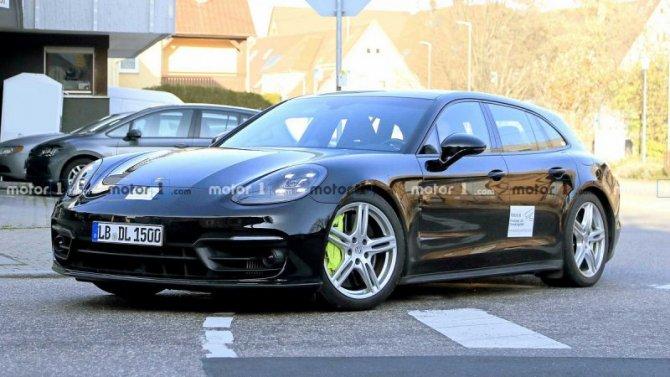 Рассекречен облик нового Porsche Panamera