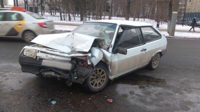 Три человека пострадали в ДТП в центре Ижевска