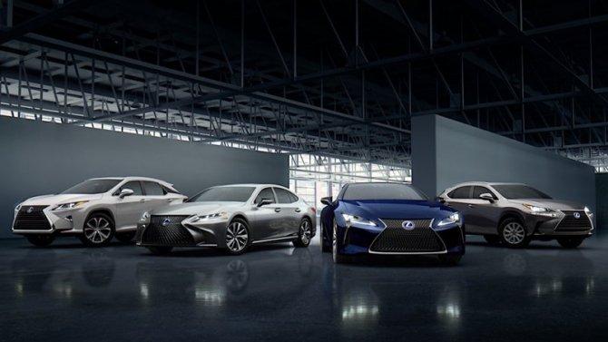 Автомобили Lexus признаны самыми надёжными