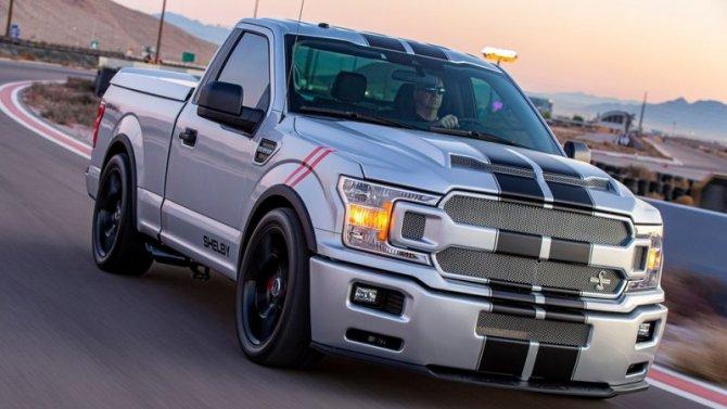 Ford F-150 получил версию Shelby