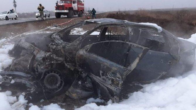 Девушка погибла в ДТП под Астраханью