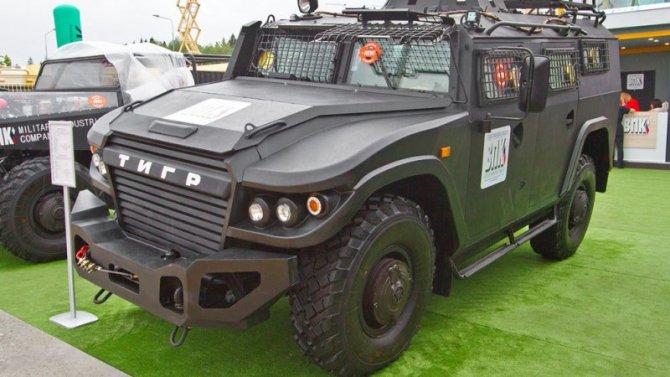 Обновлён бронеавтомобиль «Тигр»