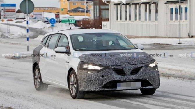 Renault Megane Grandtour прошёл рестайлинг