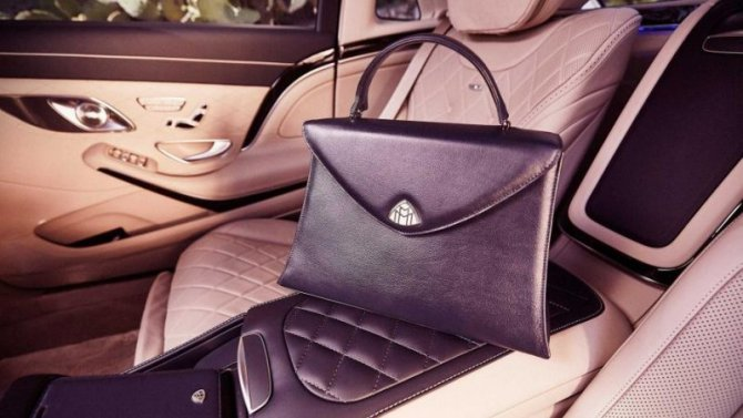 Представлена коллекция аксессуаров для Mercedes-Maybach