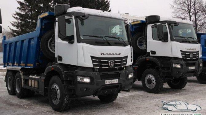 Самосвалы «КамАЗ» получили кабины отMercedes-Benz