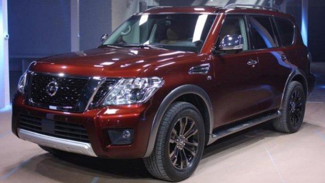 Новый Nissan Armada: появились подробности