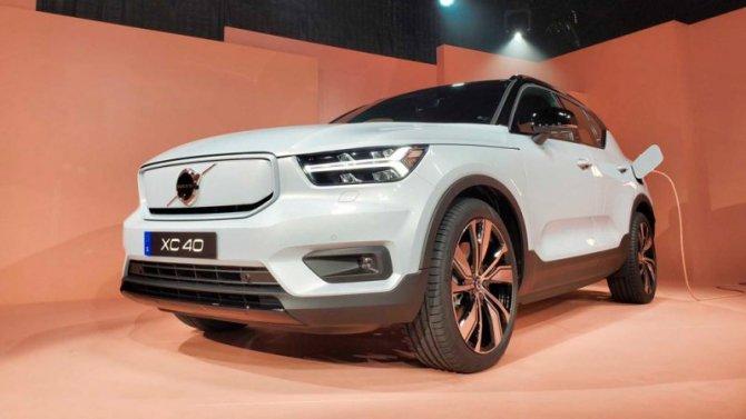 Электрокроссовер Volvo появится вРоссии в2021 году