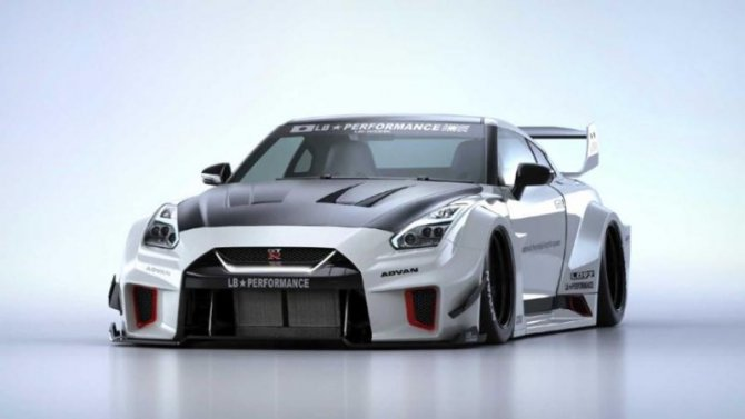 Nissan GT-R получил эксклюзивный обвес