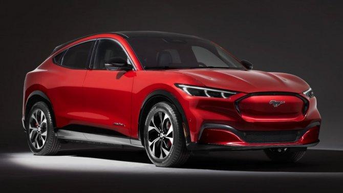 Ford может выпустить мини-версию Mustang Mach-E