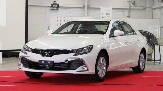Прекращено производство седана Toyota MarkII
