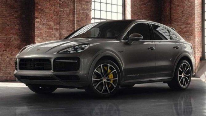 Porsche Cayenne Coupe получил эксклюзивное исполнение