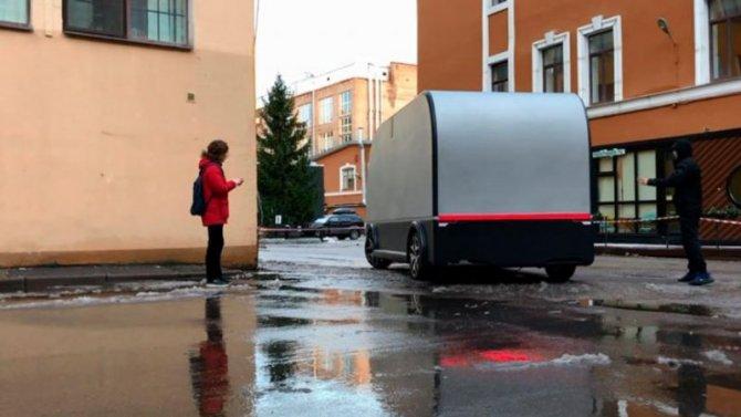 ВСанкт-Петербурге испытывается грузовой беспилотник