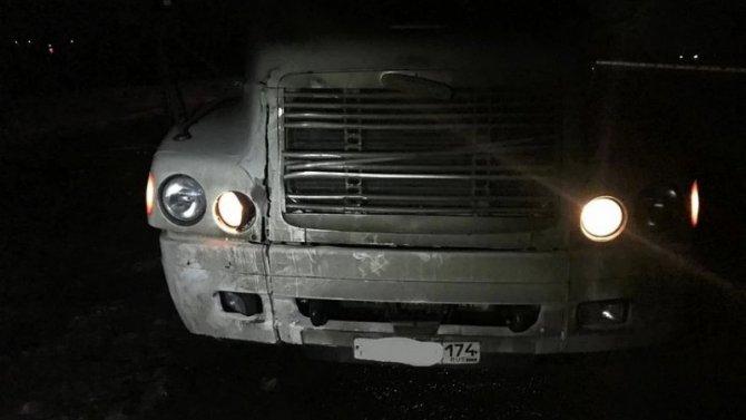 В Самарской области грузовик насмерть сбил женщину