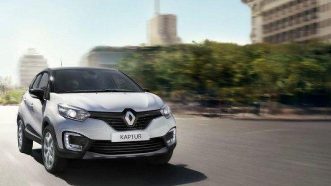 ВРоссии отзывают кроссоверы Renault Kaptur