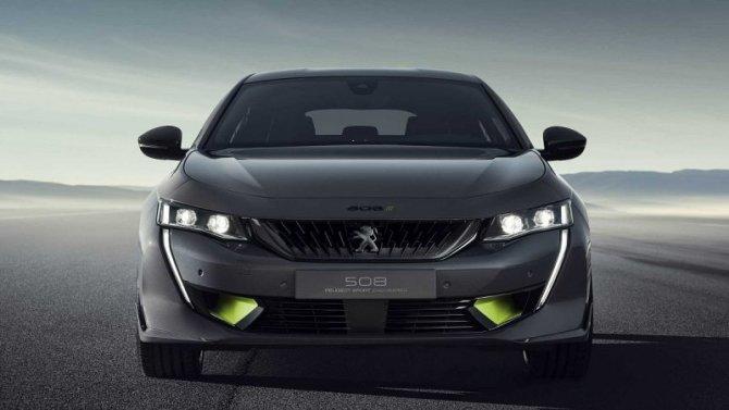 «Заряженный» Peugeot 508: концепт-кар встанет наконвейер
