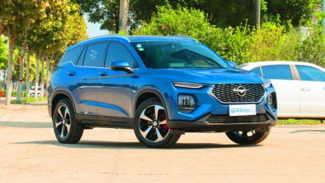 Китайский аналог Hyundai Santa Feстал гибридным