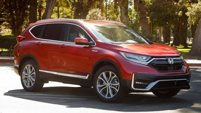 Обновленный кроссовер Honda CR-V появится в России во 2-й половине 2020 года