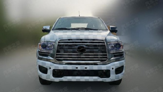 Обновлён аналог пикапа Toyota Tundra