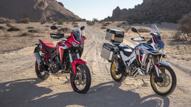 Обновлённый турэндуро Honda Africa Twin: скоро вРоссии