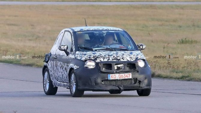 Обновлённый FIAT 500e: начаты ходовые испытания