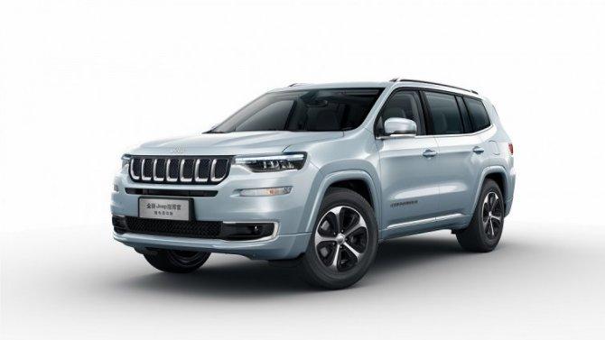 ВКитае появился гибридный Jeep Grand Commander