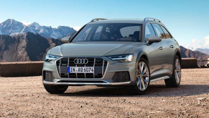 Названы комплектации ицены нового Audi A6 Allroad
