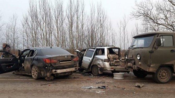 Три человека погибли в ДТП во Владимирской области