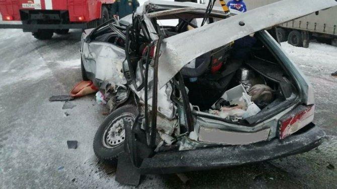 Три человека погибли в ДТП в Курганской области