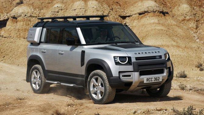 Стало известно, когда начнутся российские продажи нового Land Rover Defender