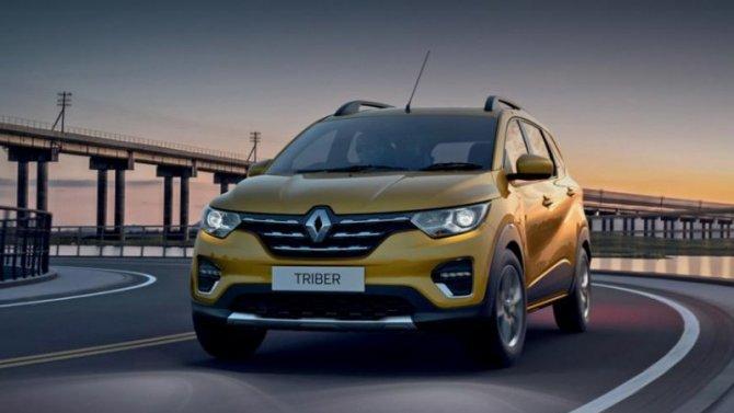 Renault Triber выходит наглобальный уровень
