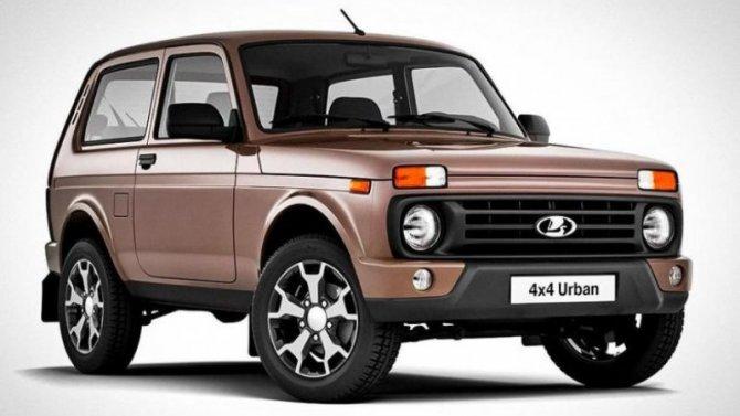 Началось производство обновлённого внедорожника Lada 4×4
