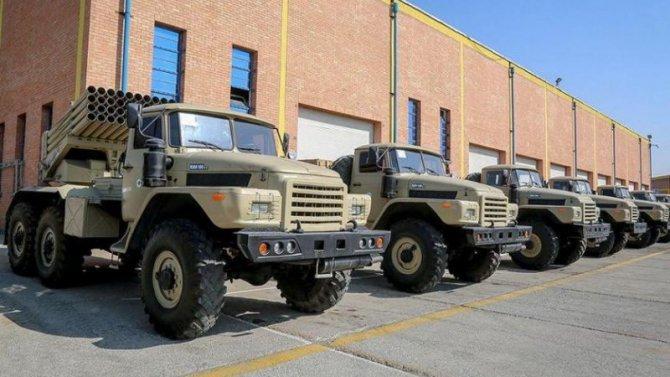 Иранская армия достала технику изтумана советского прошлого
