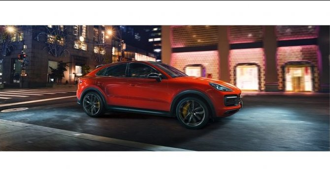 Новый Porsche Cayenne Coupe в Порше Центр Москва.