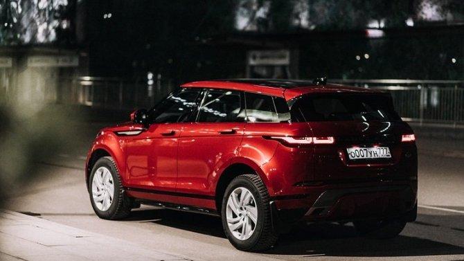 Range Rover Evoque от 2 521 000 рублей в «АВИЛОН»