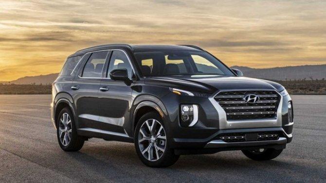 Hyundai Palisade запатентован вРоссии