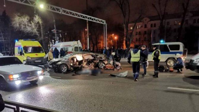 Четыре человека погибли в ДТП в Воронеже