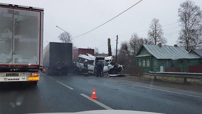 ВНижегородской области в ДТП с автобусом погиб человек